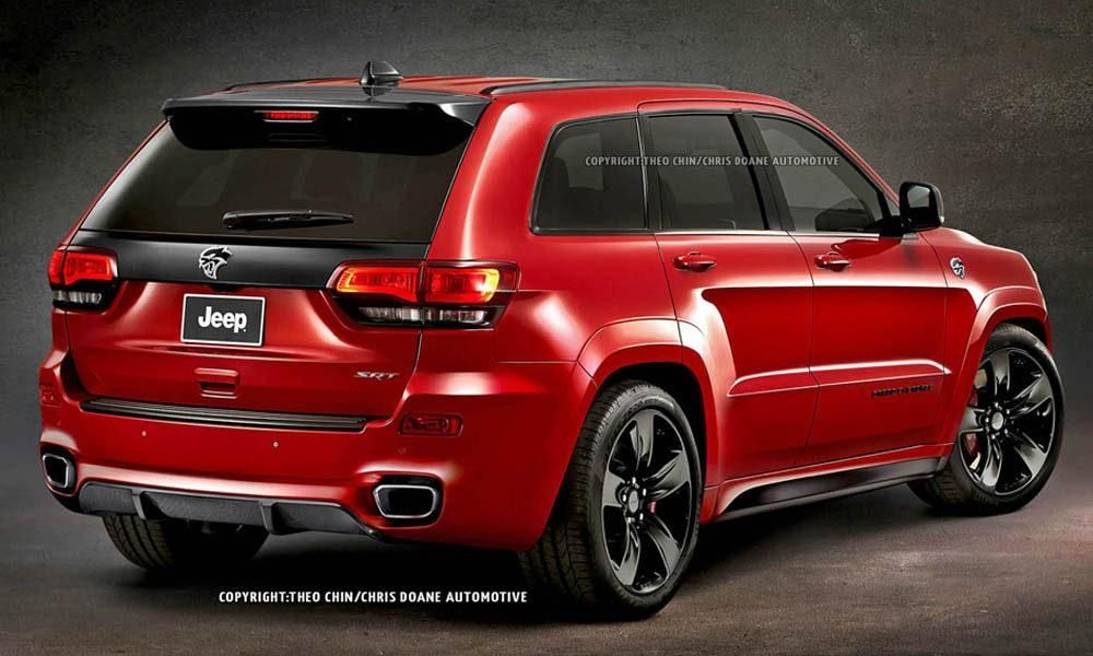 You Can't Buy A Jeep Grand Cherokee Hellcat But This Rendering