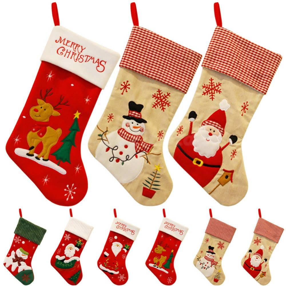 cheap gifts history buy quality gift wrapping bag directly from china bag canvas suppliers new year lovely vintage christmas stocking snowman bag gift - Vintage Christmas Gifts