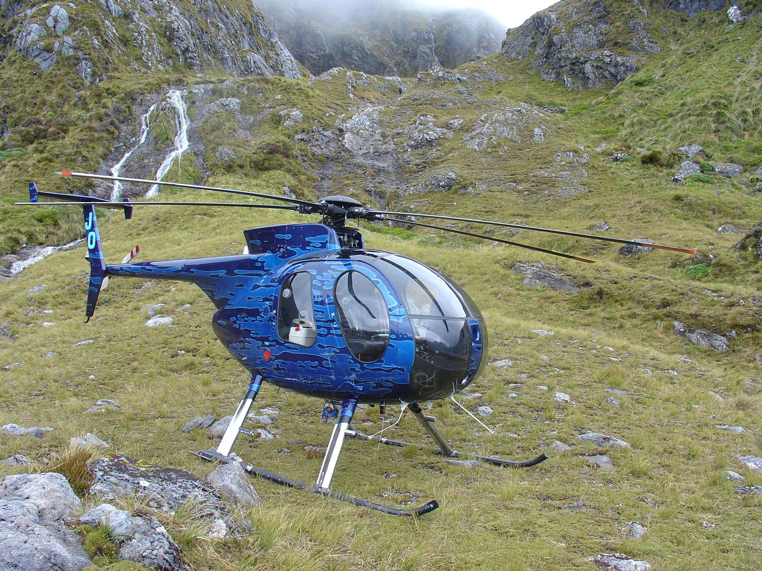 Fiordland New Zealand. You'll need an MD500 to get there