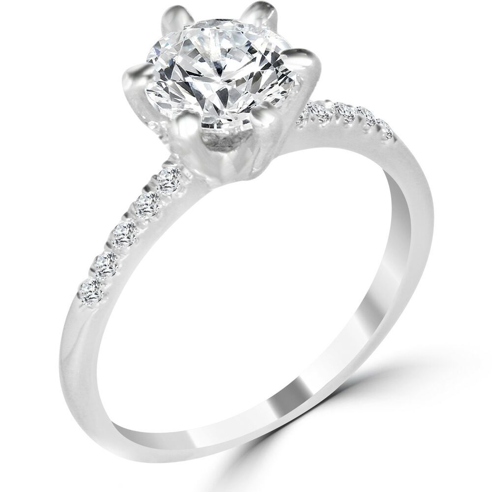 Engagement Rings From Ebay Uk Engagementrings Rings 1 Ct Round