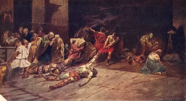 The Spoliarium By Juan Luna Famous Art Handmade Oil