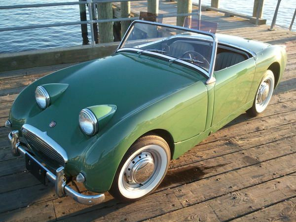 """Austin-Healey """"Bugeye"""" Sprite (these things were really fun)"""