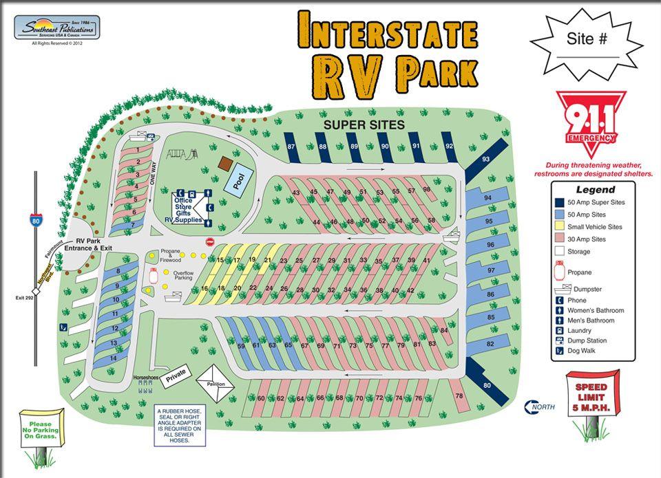 Rv Park Design Parking Design Rv Parks Rv