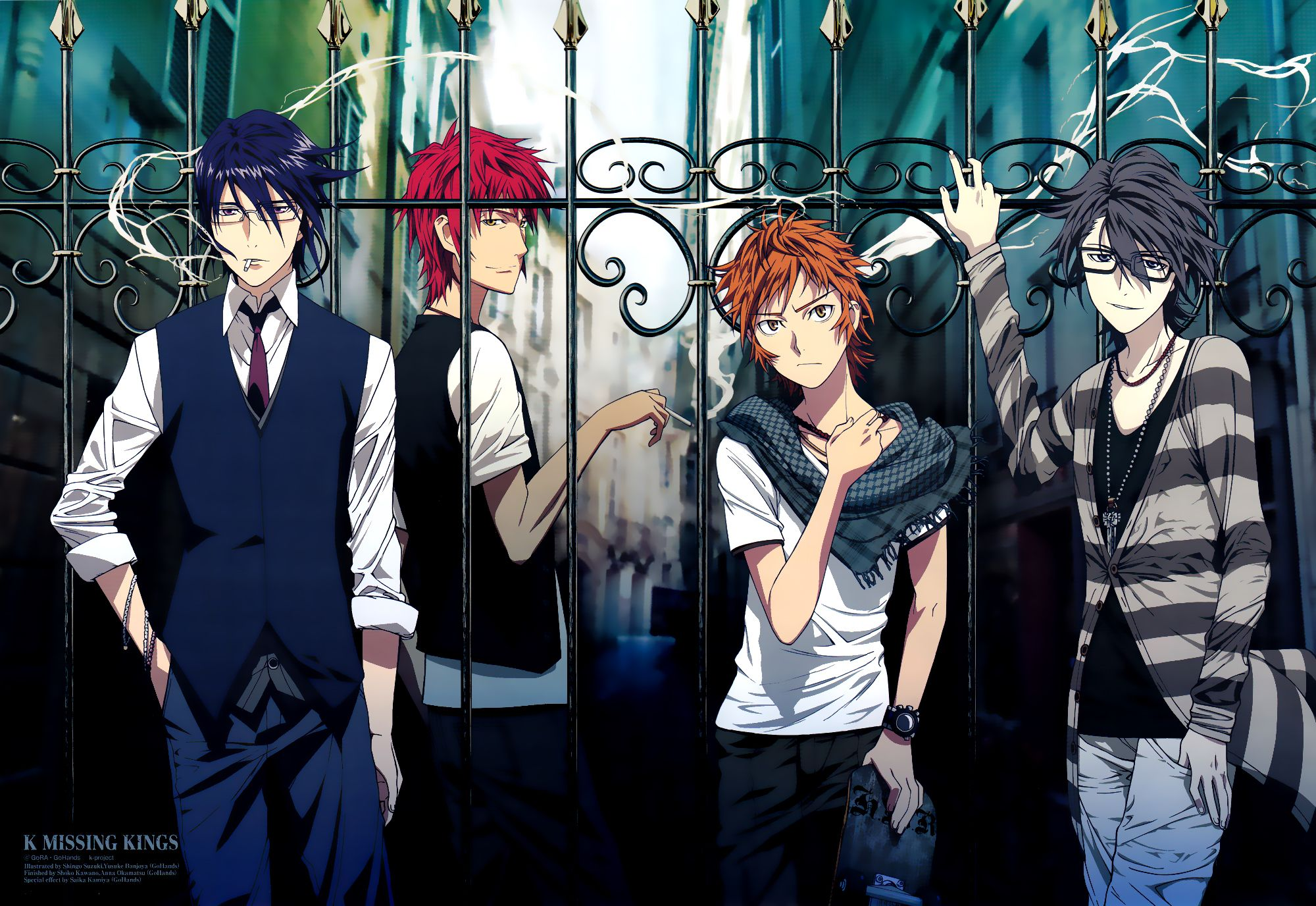 K Project Computer Wallpapers Desktop Backgrounds 2000x1376 Id 654668 K Project Anime Munakata K Project