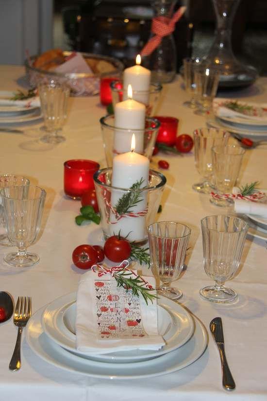 Bella italia italienischer abend tischdekorationen und for Italienische dekoration