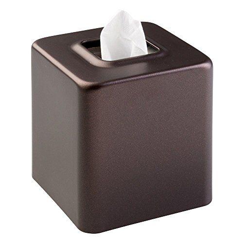 Decorative Tissue Box Holder Mdesign Steel Facial Tissue Box Coverholder For Bathroom Vanity