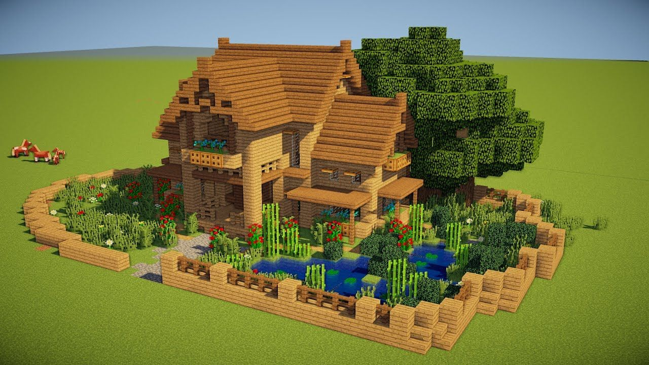 5 TIPS TO MAKE A BETTER HOUSE IN MINECRAFT (PS4, Xbox One