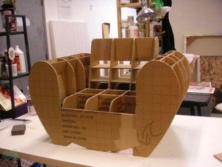 muebles reciclados de carton 12 escultura reciclado Pinterest - muebles reciclados