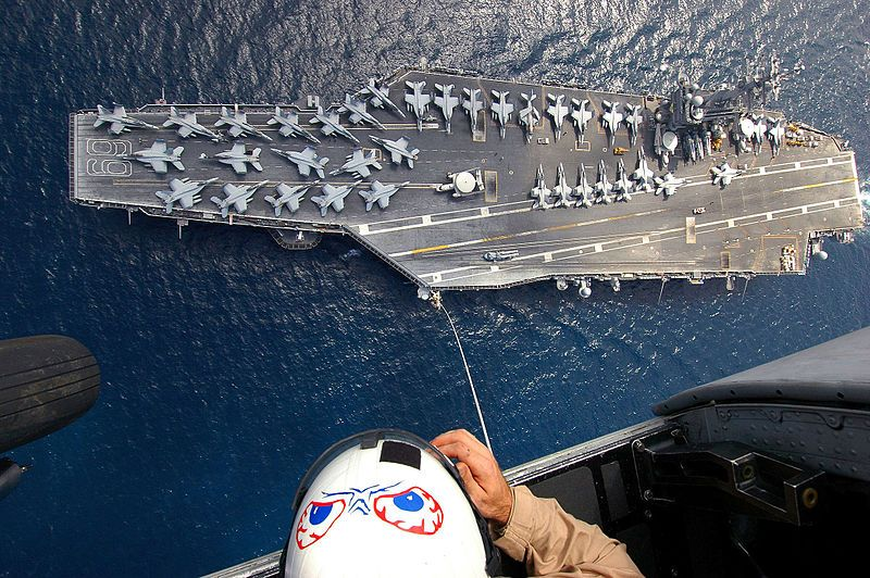 Special Services and USS Dwight D.Eisenhower.