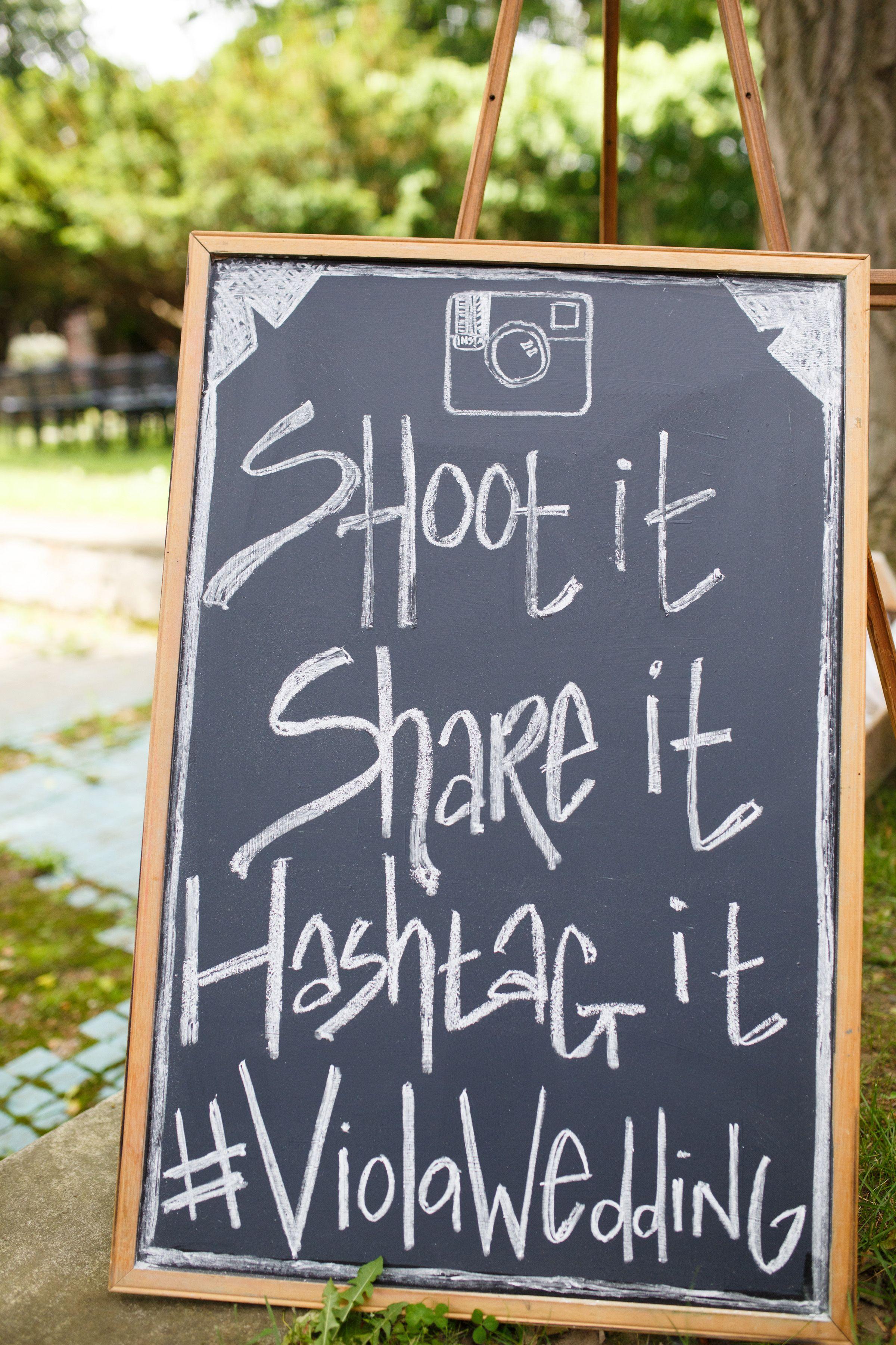 hashtag wedding sign | Wedding Hashtags | Pinterest | Hash ...