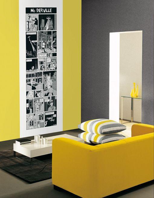 deco laminas de pared coloridas Deco Pinterest Deco, Laminas