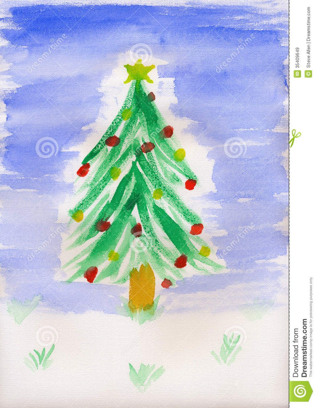 Christmas Paintings For Kids On Canvas.Fantastic Child Bonding Easy Crafts Easy Crafts Parent Child