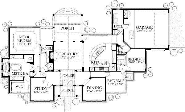 Spanish home plans