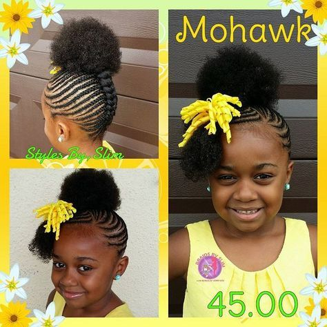 Braids Kid Style Natural Hair Natural Hairstyles For Kids