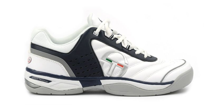 Roma LT - white navy dk. red - Sergio Tacchini Shoes #SergioTacchini #shoes