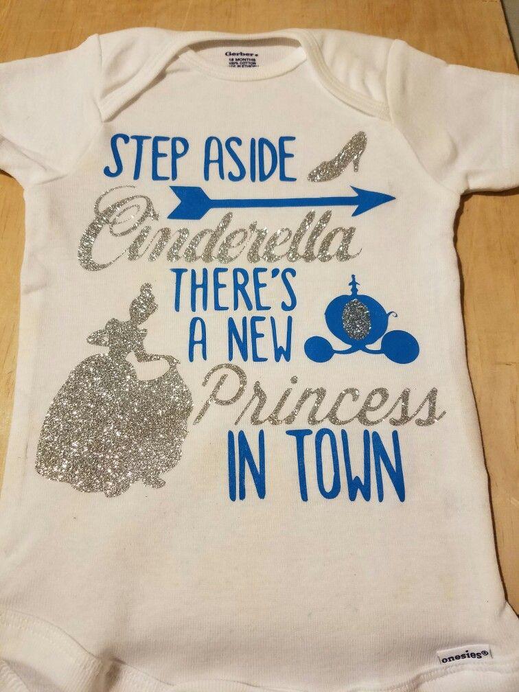 Cinderella Onesie