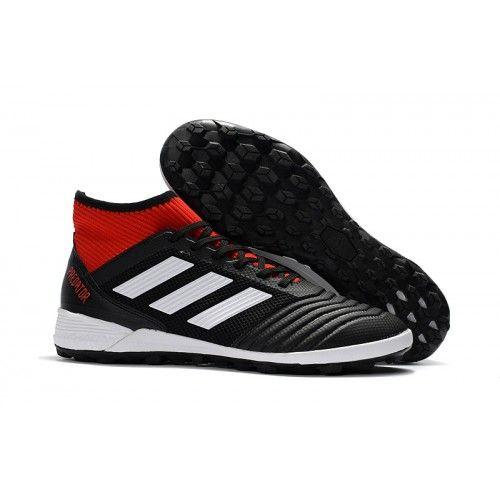 the latest 4617a bcfda football soccer futbol futsal Adidas Predator Tango 18+ IN - Core Black   Ftwr White  Solar Red