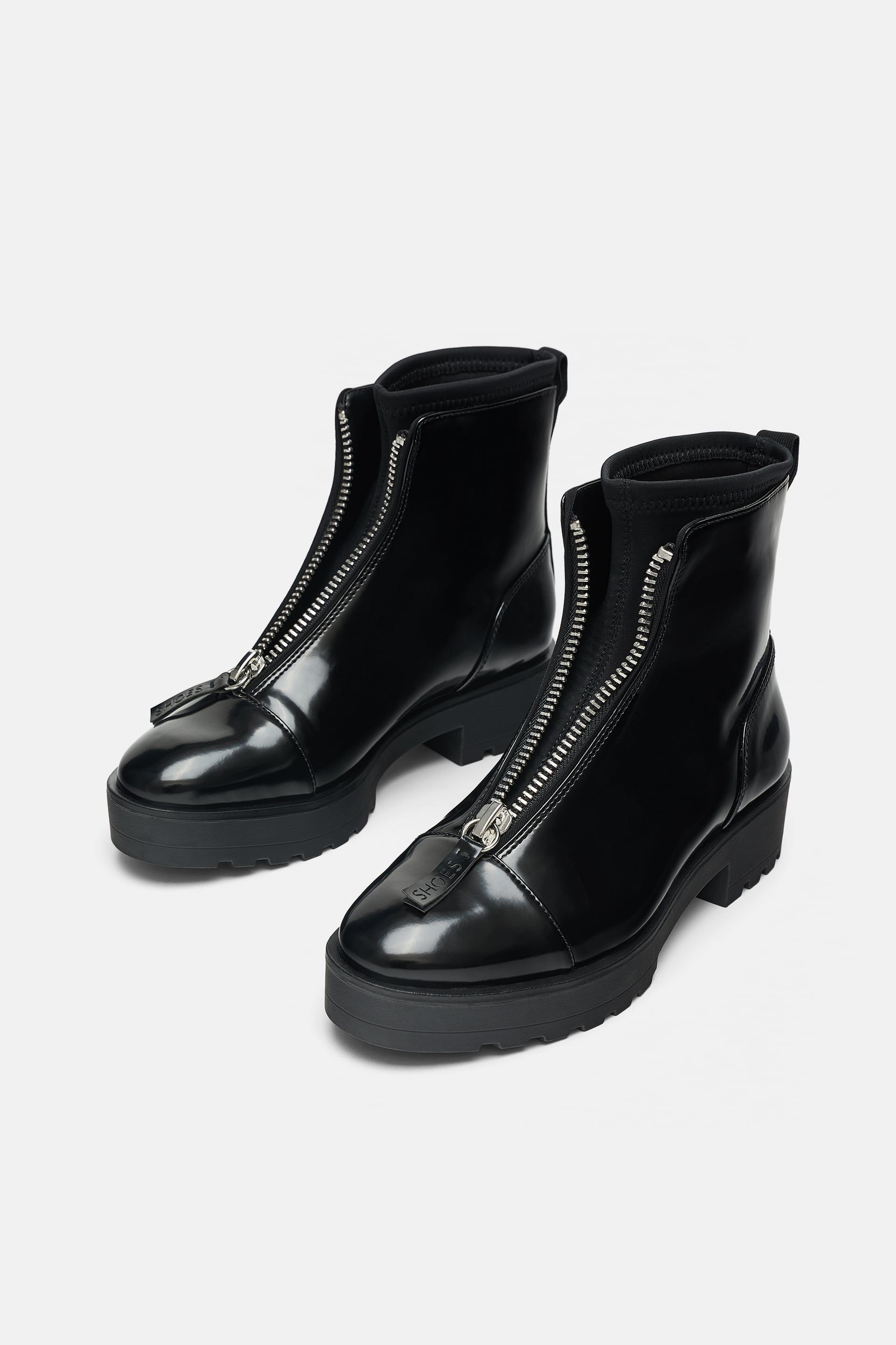 5116478d845 Ankle boots with lug soles in 2019 | clothing | Shoes, Boots, Bootie ...