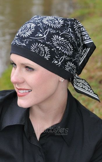 Pretied Bandana Scarves For Cancer Patients Chemo Scarves Ladies Head Scarf