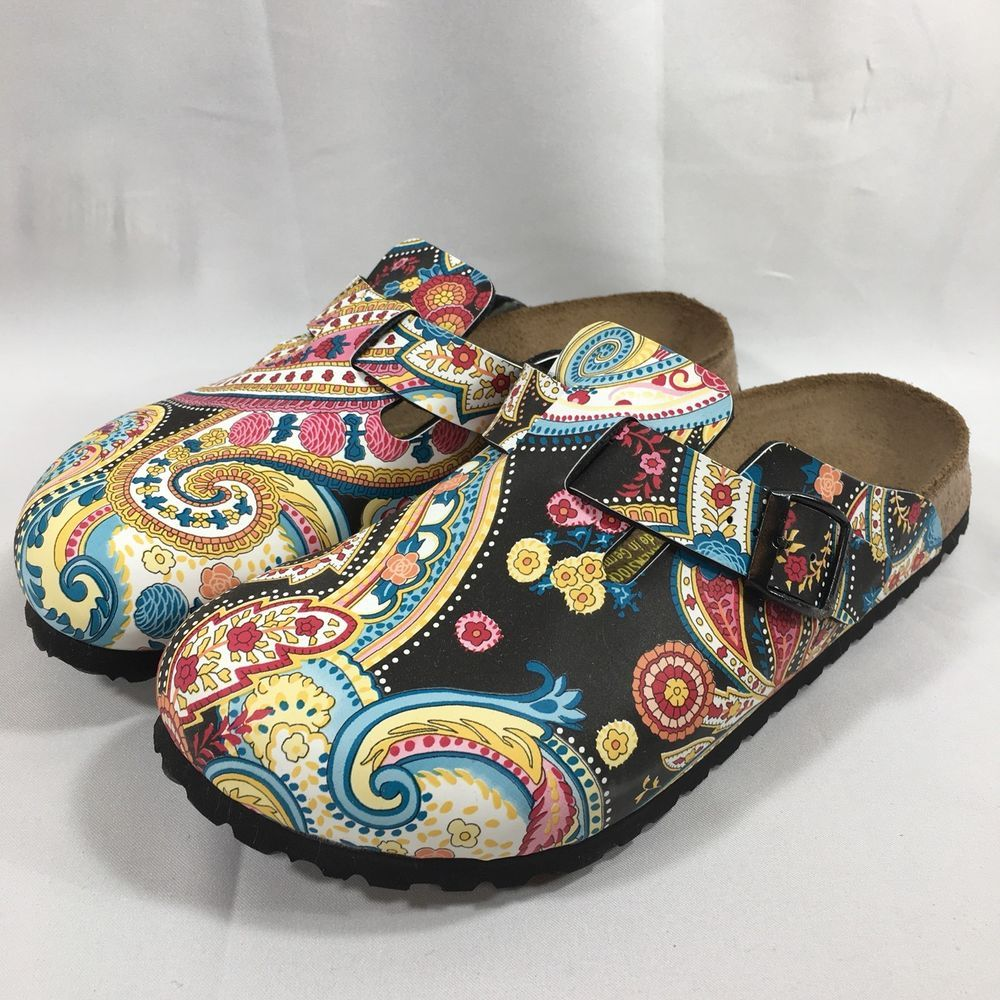 Details about Womens Birkenstock Boston Sandals Clogs Size
