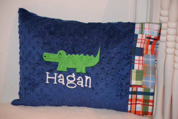Personalized Pottery Barn Inspired Alligator Applique