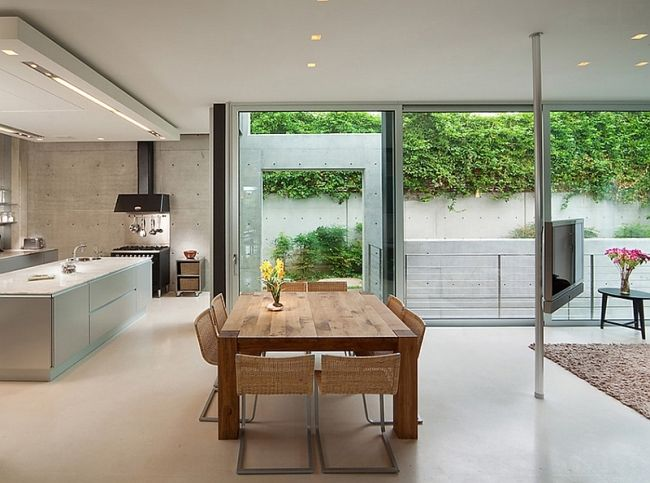 Idées déco de salles à manger design et minimalistes Woods