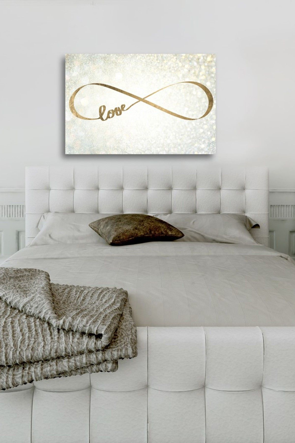 Oliver Gal Sparkle Love Canvas Art 89.00 - 269.00 Fine