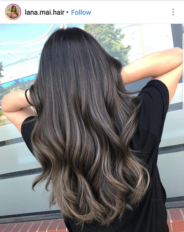 Pinterest Xioohh In 2019 Beliage Hair Brunette Hair