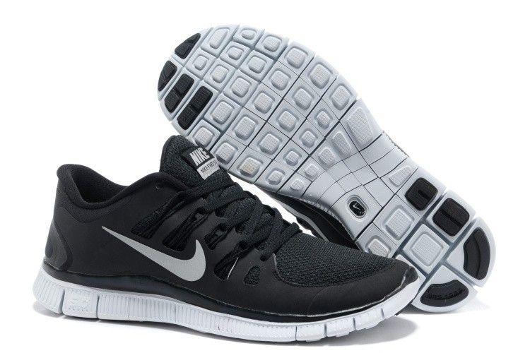NZ Donna Nike Free 5.0  71 71 71 Runing scarpe Nero Platinum bianca New   e7a40c