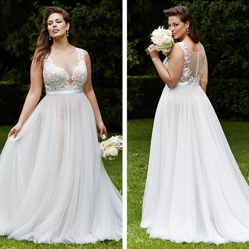 Free Shipping  Buy Best Wedding Dress Country Lace Plus Size China ... ff983c72c25b