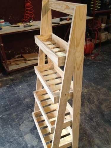 Organizador Estanteria En Pino Toilettebaococina  STEVE crafts