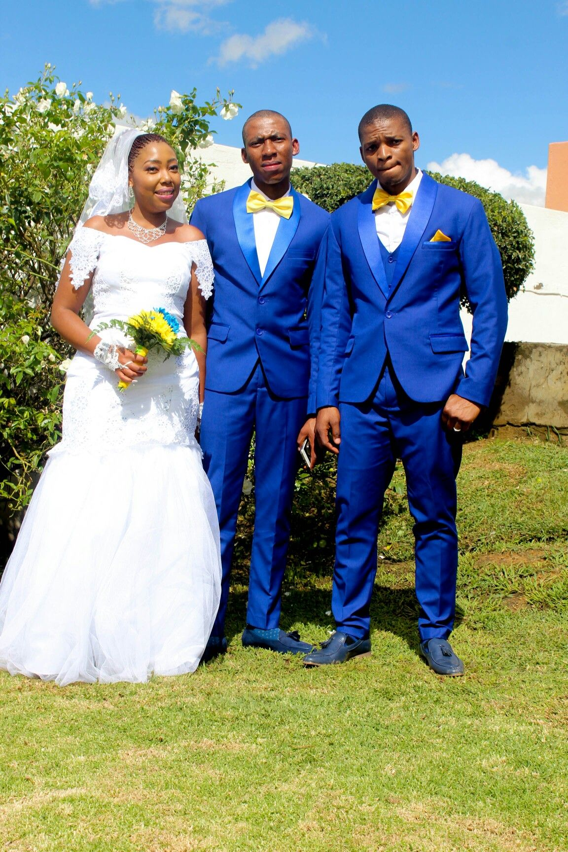 Royal Blue And Yellow Wedding Theme Royal Blue Suit Wedding Royal Blue Wedding Blue Tuxedo Wedding [ 1728 x 1152 Pixel ]