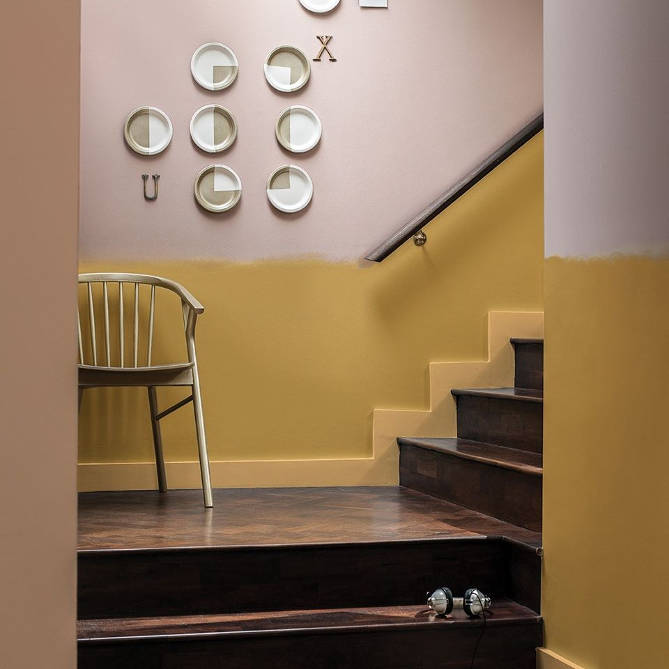 Cherished Gold by Dulux C/o Living etc. | Here\'s to a Colourful life ...