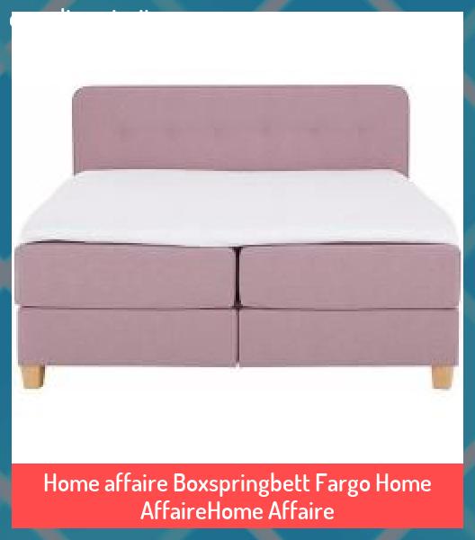 Home affaire Boxspringbett Fargo Home AffaireHome Affaire #affaire #AffaireHome #Boxspringbett #diy home decor #Fargo #Home