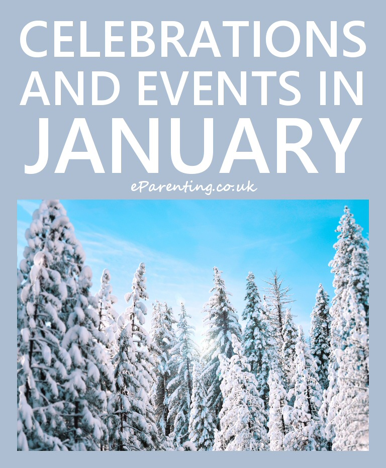 Celebrations and Events in January 2020 Special days in