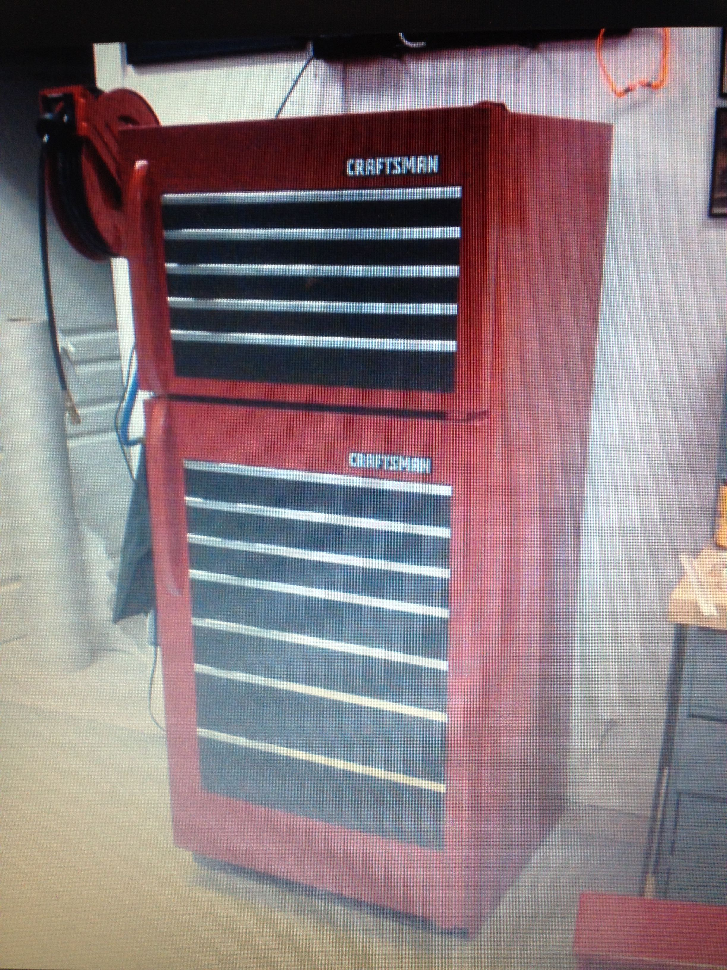 Craftsman Tool Box Fridge Totally Custom Pinterest