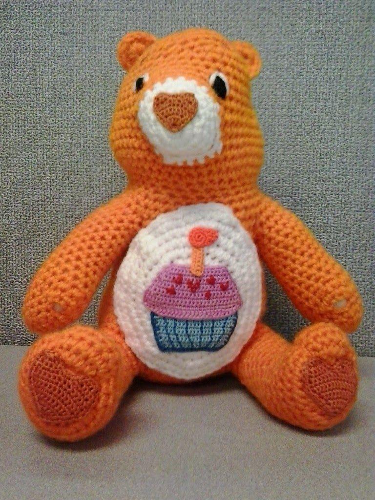 Crochet Fanatic: BIRTHDAY CARE BEAR | Amigurumi & Doll | Pinterest ...
