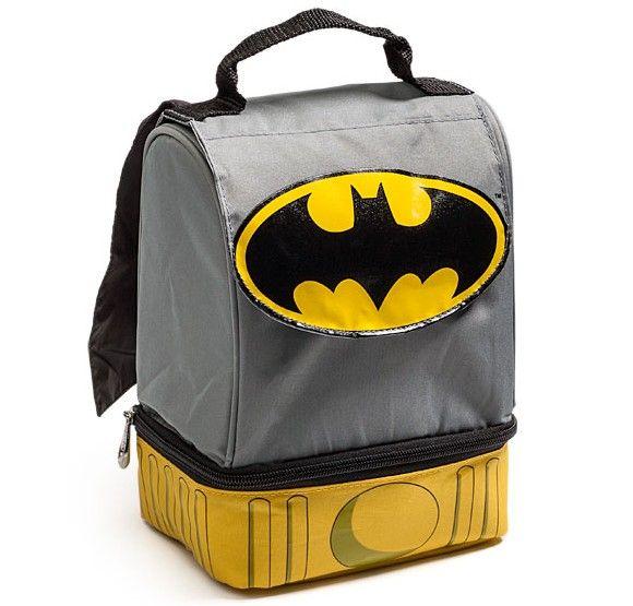 Liz Gonzalez Look For Alex S Lunch Lol Batman Caped Bag
