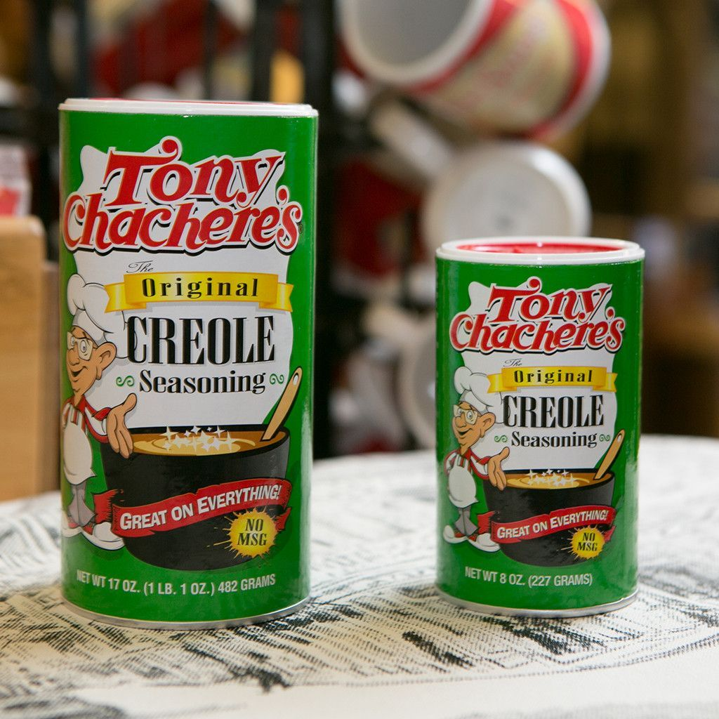 tony chacheres original creole seasoning essay To spice up easy shrimp creole, i like to use tony chachere's original creole seasoning which not only adds spice, but really accentuates the flavor of your food i was introduced to tony chachere's by my college roommates who were from new iberia, louisiana they put it on just about everything.