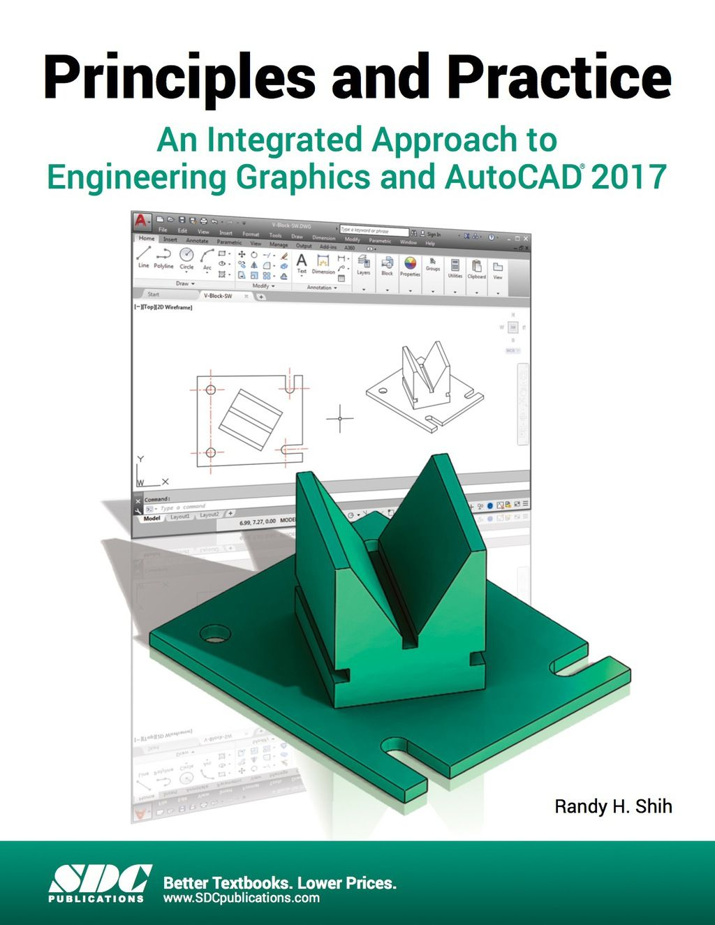 Principles And Practice An Integrated Approach To Engineering Graphics And Autocad 2017 Ebook Autocad Practice Principles