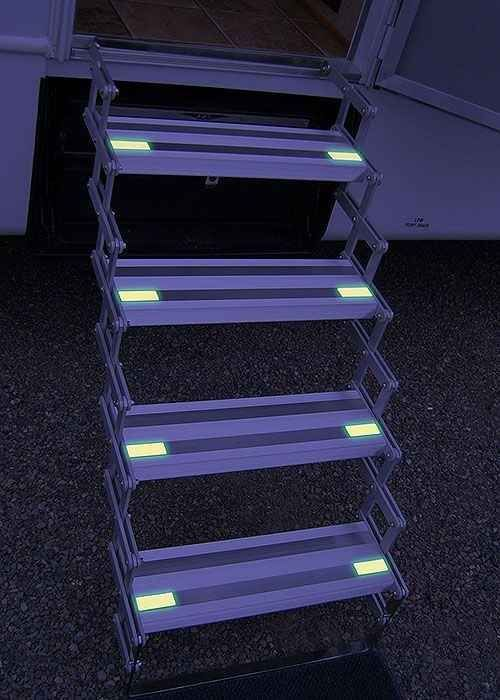 Photo of Add glow-in-the-dark tape to your stairs at night. – #Add #GlowintheDark #Night …