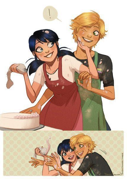A Miraculous Love #Wattys2016 - Valentine date and baking