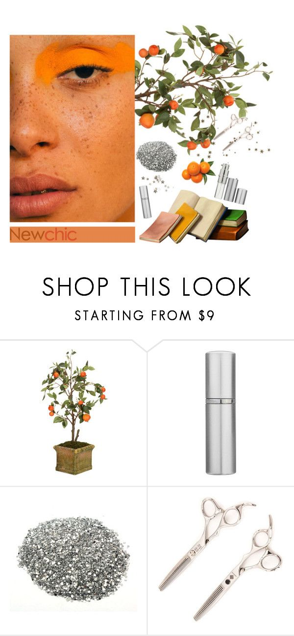 """""""Orangy // Newchic"""" by lsaroskyl ❤ liked on Polyvore featuring Diane James"""