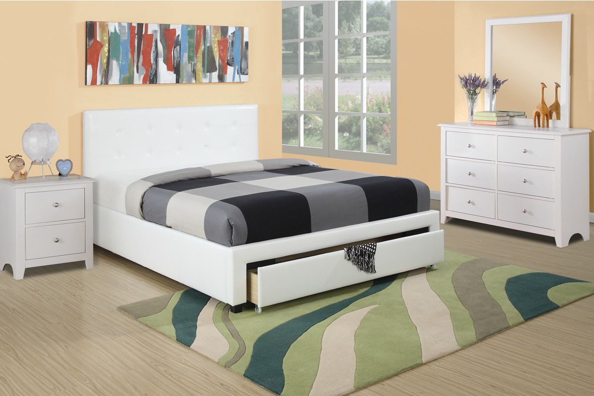 Wondrous Bedroom Front Drawers White Color Full Size Bed Dresser Download Free Architecture Designs Rallybritishbridgeorg