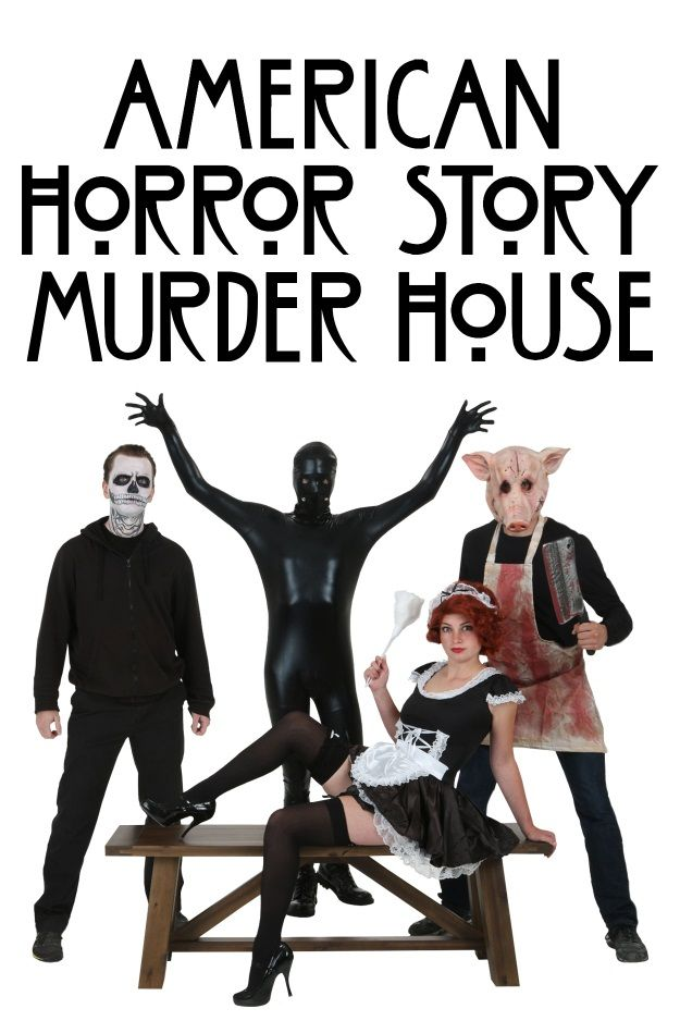 American Horror Story Murder House costumes  sc 1 st  Pinterest & American Horror Story Group Costume Ideas | American horror story ...