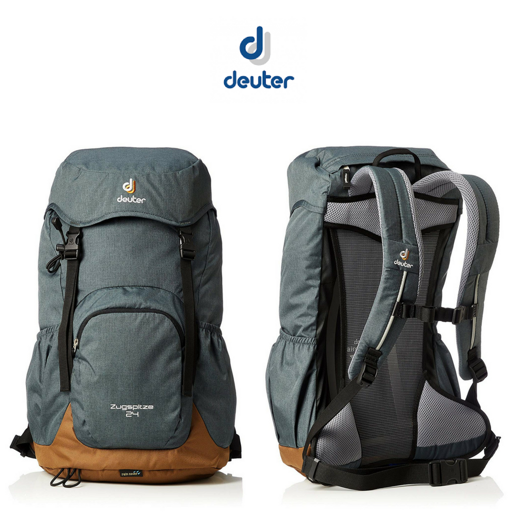 Deuter External Pockets Accessories Anthracite Backpacks and