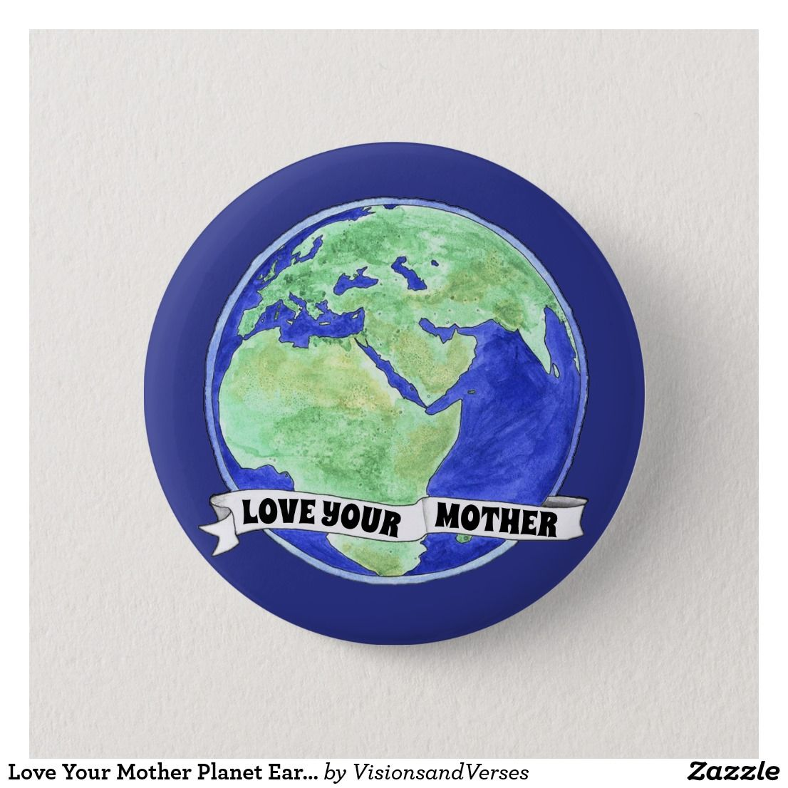 Love your mother earth scroll button