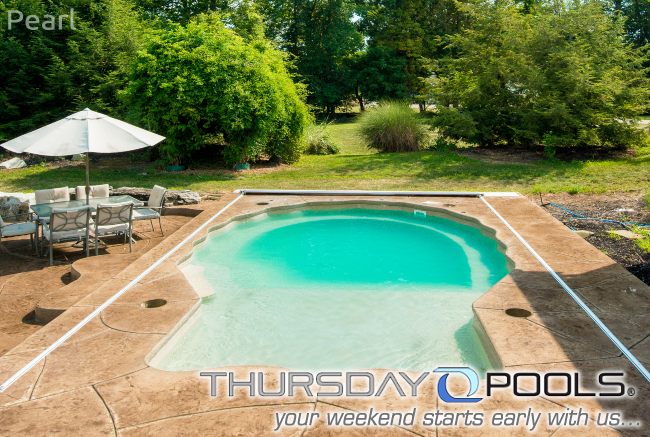 This Unique Fiberglass Pool Design By Thursday Pools Can