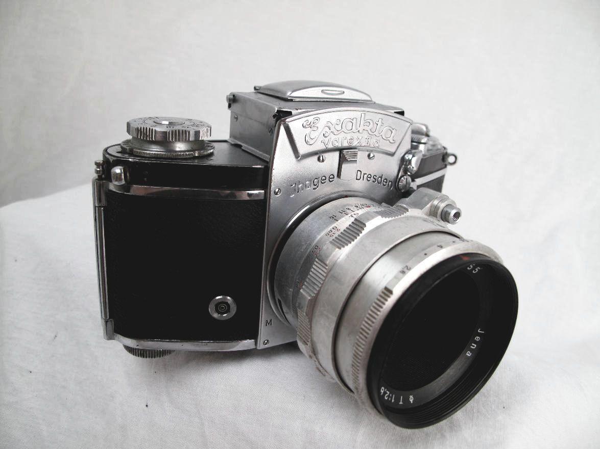 Exacta varex ii a 35mm film camera vintage waist level view finder tested serviced carl zeiss lens 360 00 via etsy