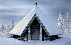 Finland Winter Cottage